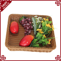 Store and supermarket equipments square basket for fruit storage