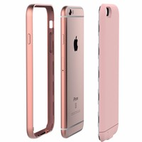 smart phone 2400mAh rechargable External Battery back Case For iPhone 6/6s/7