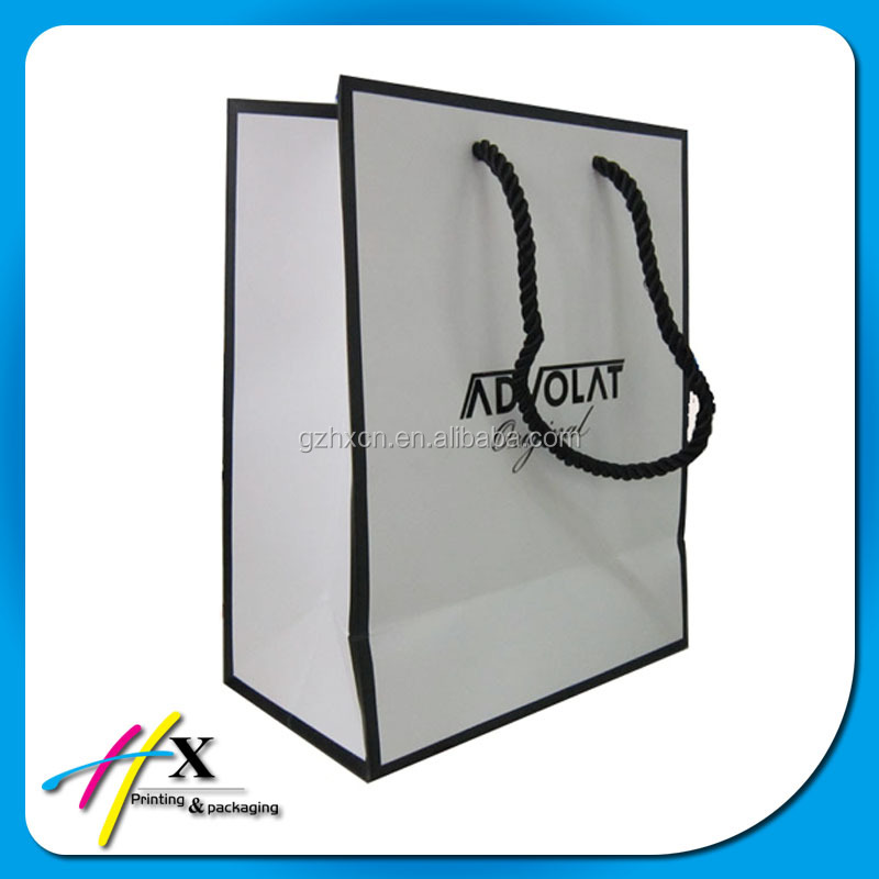 2014 reinforced bottom paper photo frame packaging bags