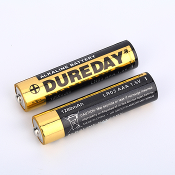 Durable factory price 1.5V LR03 aaa Alkaline dry cell battery
