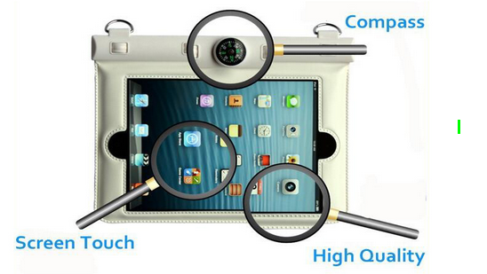 Hot products 5.5 inch universal pvc mobile phone waterproof case,IPX8 Certified to 100 Feet cell phone waterproof bag