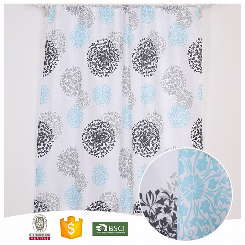 10 Years Experience Beautiful shower curtain material