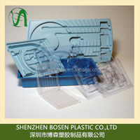 Shenzhen longgang factory produce vacuum formed / thermoformed cheap plastic tray