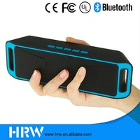 HRW outdoor wireless 4.0 bluetooth speaker with mini portable fm radio TF card subwoofer template