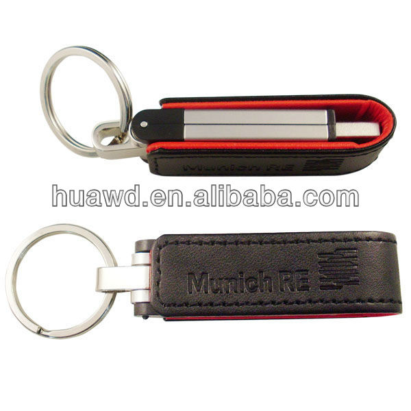 special leather usb stick 512 MB
