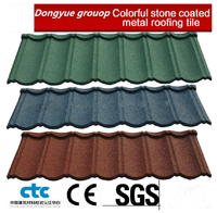 Zinc steel roofing sheets weight in bond tile/metal roof tile/metal roof shingles