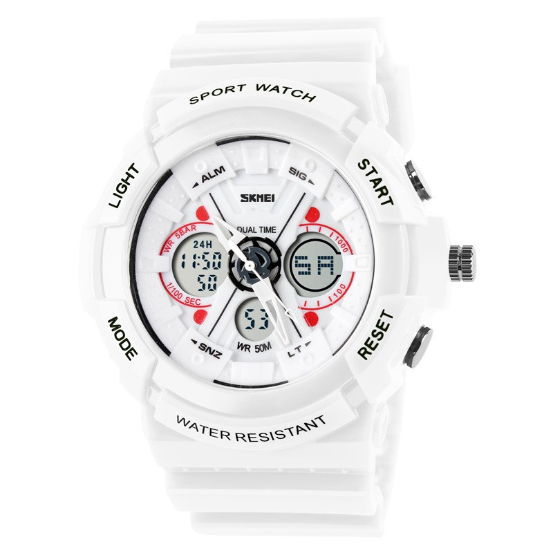 Original SKMEI Brand Sport Digital Watches Double Movement Analog Sport Watches 3ATM Waterproof Watch Manufacturer Supplier