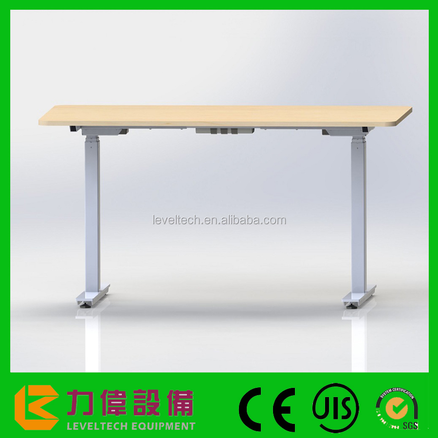 Wholesales Motorized Adjustable Height Table Legs Sit Stand Desk Frame Manual Height Adjustable Standing Desk