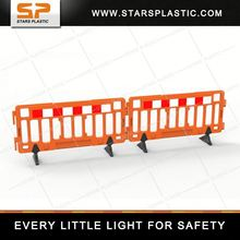 2 Meter Road Safety Heavy Base HDPE fence lighting low voltage