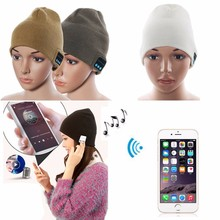 Wholesale winter bluetooth beanie custom bluetooth beanie hat cap Headphone Wireless headphones,bluetooth hat