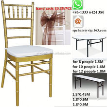 iron white bamboo chairs