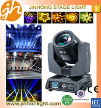 rotation 230w moving head dj disco stage events spot beam light 7r