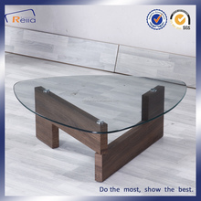 Best Seller Italian Style Classical Glass Top Center Coffee Table Set, End Tables Modern