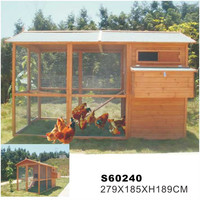 2016 Hot sales high quality wooden chicken coop/chicken house