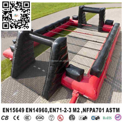 inflatable human foosball court , inflatable foosball table ,cheap inflatable foosball for sale