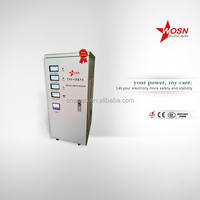 Three phase full automatic servo motor control 30KVA 10 kva voltage stabilizer