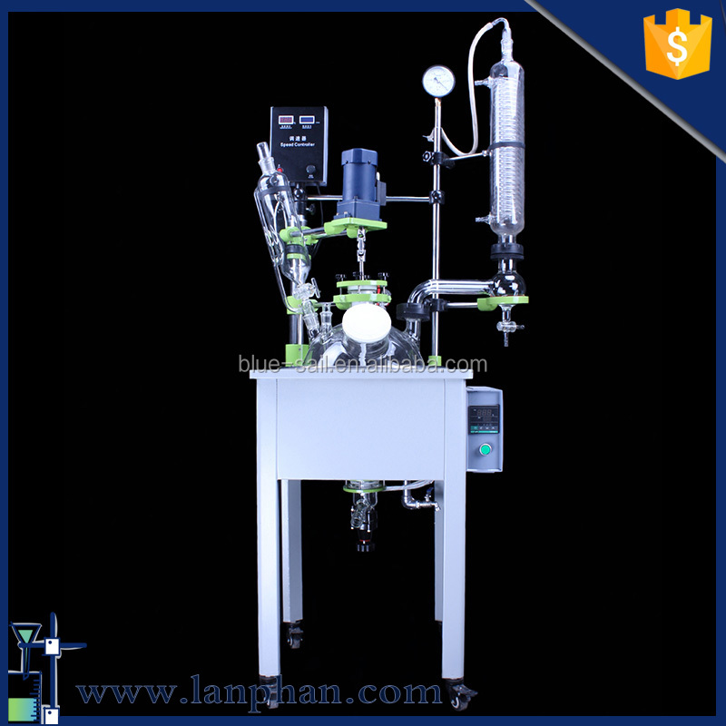 Reasonable Price Lab Glass Reaction Kettle for Molecular Distillation