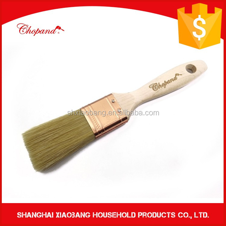 Difference Size Nylon Shortcut wooden & Rubber Bristle Paint Brush