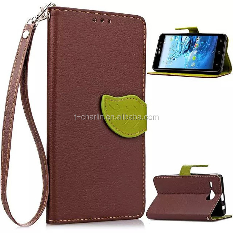 Wholesale Price Premium Stand PU Leather Flip Case for Acer Liquid Z520