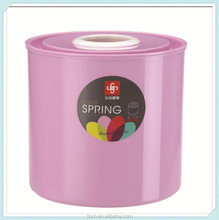 Household Plastic Round Napkin Holder