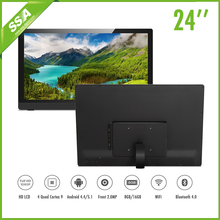 "24"" Android 4.4 tablet pc with RJ45 port and 3G USB optional"