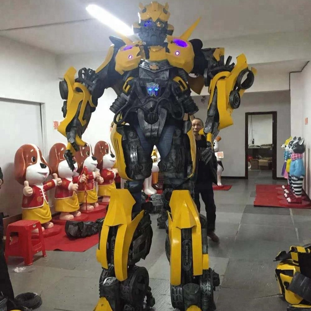 Human Size Bumble Bee Cosplay Dancing Robot Costume Buy Bumble Bee