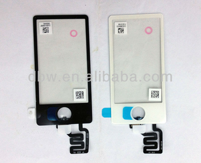 Original New LCD touch screen digitizer glass lens for iPod Nano 7 repair parts