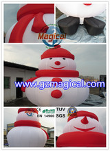 cheap inflatable snowman decoration/happy inflatable Christmas snowman