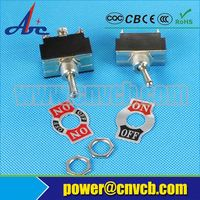 250V different types of toggle switches with UL/TUV