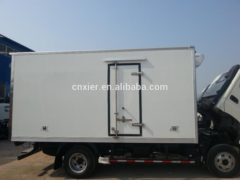 insulated freezer box refrigerated trailer truck bodies/insulated van