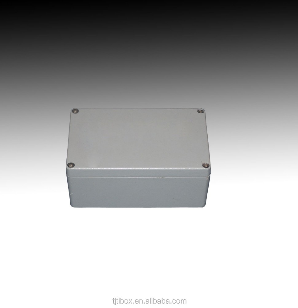 Aluminum enclosure for power supply/electronic case/electric panel box metal switch box