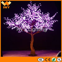 Ultra Beautiful LED Pink Artificial Cherry Blossom Trees For Wedding And Event