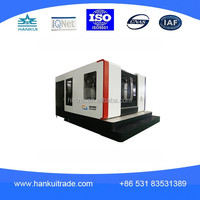 H45/3 small milling machine , horizontal mini metal cnc milling machine