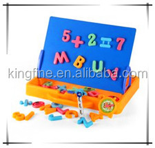 Decorative fridge magnet letters; Magnetic numbers;Magnetic number block;Magnetic letter board for children;