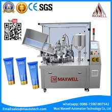 Automatic shaving cream hand operated plastic tube sealer for cream lotion gel paste filling and sealing machine