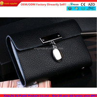 luxury wallet leather case with credit card holder