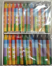 2016 hotsale high quality wax crayons for kids drawing /non-toxic wax crayons in box