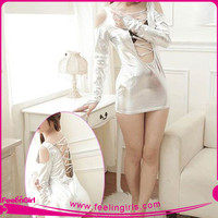 Wholesale Latex Spiked White Clubwear 2015