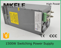 SCN-1500-48 1500w 48vdc32a switching power supply 48v 1500w variable smps with pfc