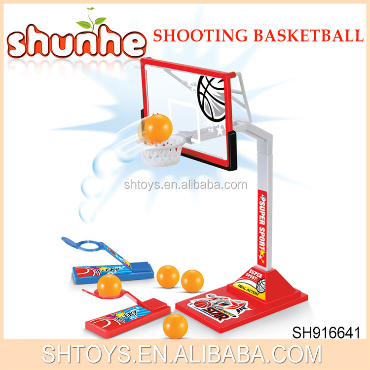 Market Newly Table Game Basketball Mini Basketball Game Toy For Kids Funny Plastic Basketball Shooting Game