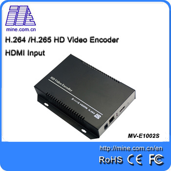 H.264 HDMI MPEG-4 Video To Ip Encoder For IPTV OTT Online TV