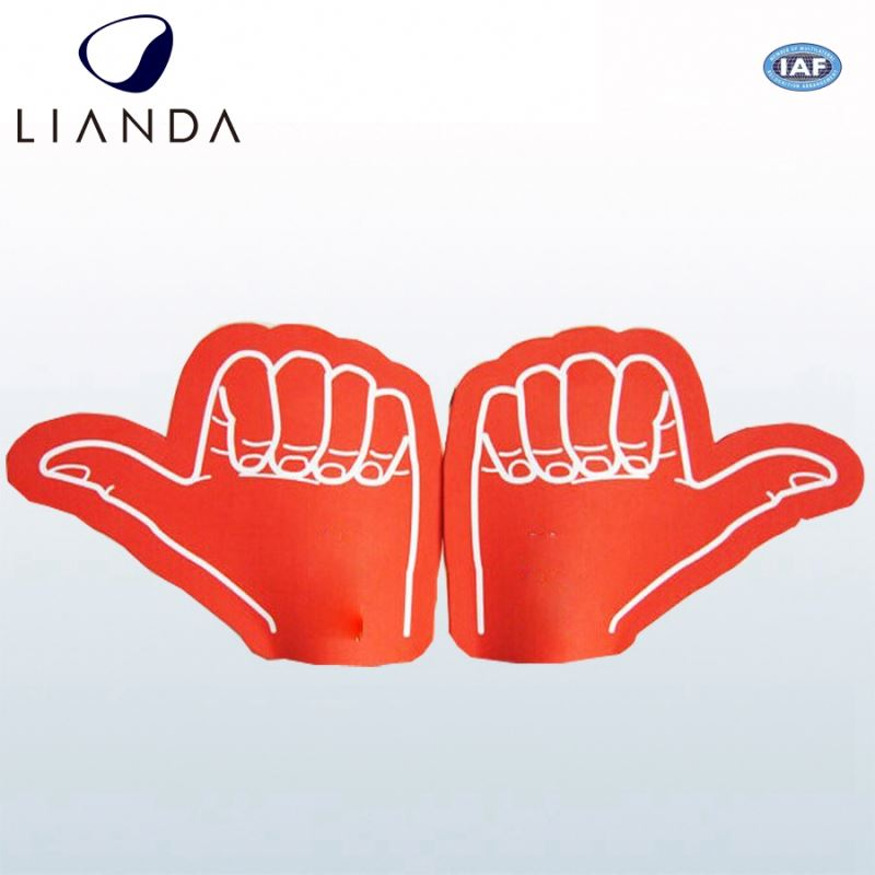 Promotional gifts foam pointing finger, wholesale foam rubber hand