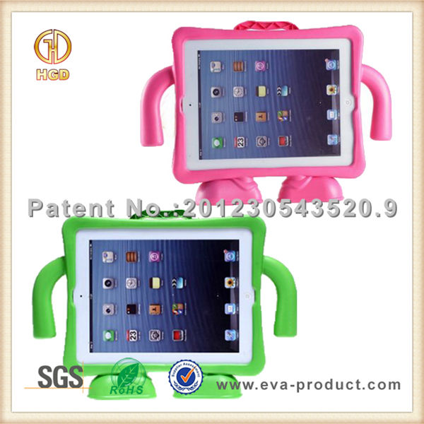 Smart cover for iPad 2/3/4, Shookproof and Freestanding tablet case for kids
