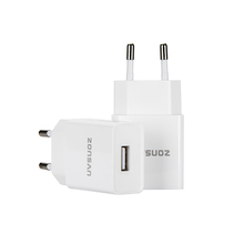 Cheapest mobile accessories 1 port 2.4a USB port wall charger