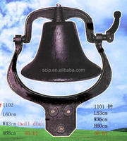 big cast iron bell for sale
