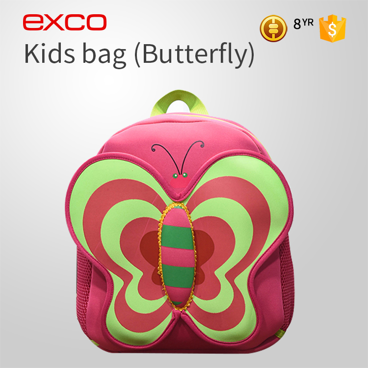 EXCO Manufacturer kids custom top quality brand kindergarten cartoon school bag