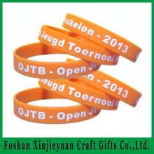 Wholesale high quality wedding souvenirs silicone bracelet