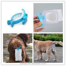 2017 Hot selling pet products factory soft dog poop Bag piqapoo outdoor mini toilet for dogs