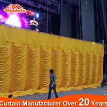 Fire retardant velvet fabric for theater stage curtains drapery fabric