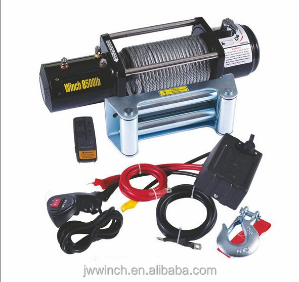 Automatic Brake 8500 LB Electrical 4x4 Recovery , Heavy Duty Electric Winches